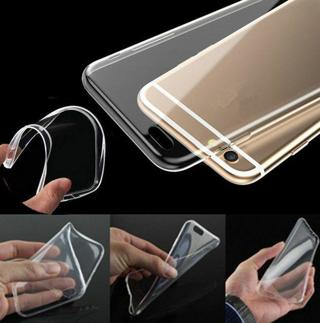 Ultra Thin Transparent Crystal Clear TPU Case Skin Cover For iPhone 6 PLUS one
