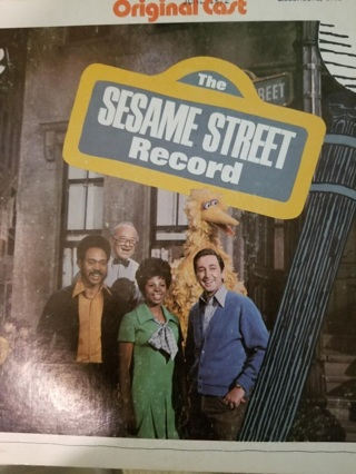 Original cast: The Sesame Street Record