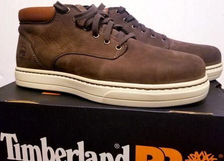 BRAND NEW! > Mens Size 10.5 >Timberland Pro DISRUPTOR chukka >alloy safety toe w/ original Box *read