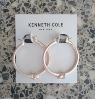 Nwt Kenneth Cole NY Designer Earrings with Gift Box