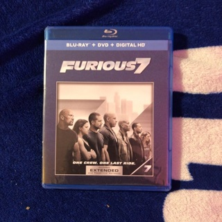 Furious 7 (Blu-Ray & DVD)