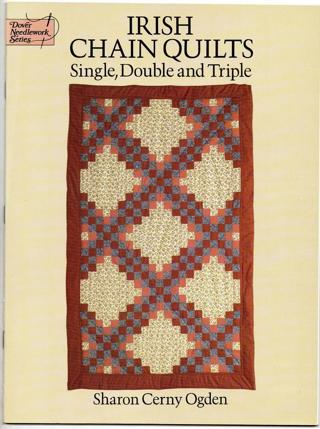 Irish Chain Quilts Book...Single, Double and Triple...Quilt Making...free shipping