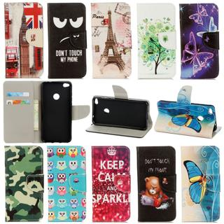 For Xiaomi Redmi 4A 4X 4 Pro Flip Stand Painted Wallet Card Leather Case Cover