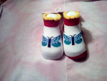 BNIP baby socks