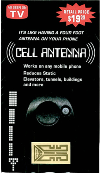 TWO Antenna Boosters for cell phone phones Signal Improver Generator as seen on TV Like Gen X