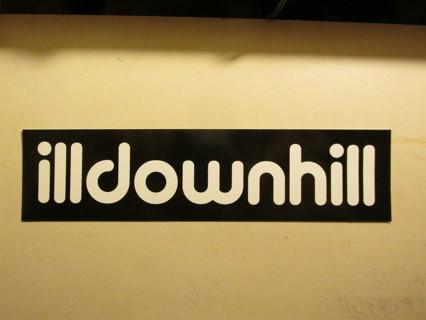 Illdownhill Sticker