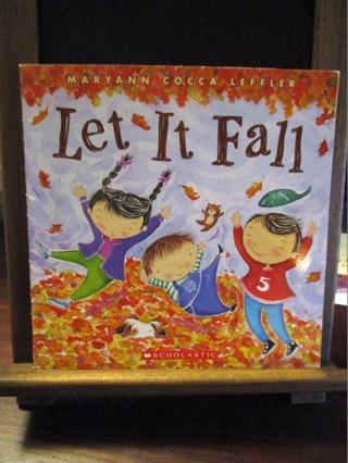 Let It Fall - by Maryann Cocca-Leffler