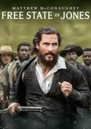 "Free State of Jones ""HDX"" iTunes Digital Movie Code Only!"