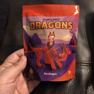 Smartlinks Dragon from Wendy's Kid's meal