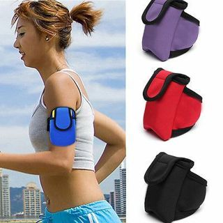 Unisex Outdoor Sport Cycling Running Wrist Pouch Arm Bags Armband for MP3