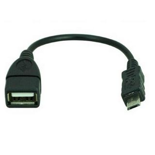 Hot Micro USB 2.0 A Female to B Male Converter OTG Adapter Cable for Samsung HTC