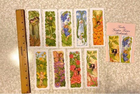 Garden Fairies Bookmarks (9pc)