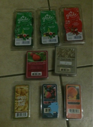 WAX MELT LOT - Must Have - Great Variety - Glade - Perfect Harvest
