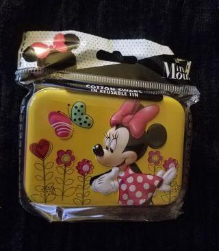 Disney Cotton Swabs in Reusable Tin