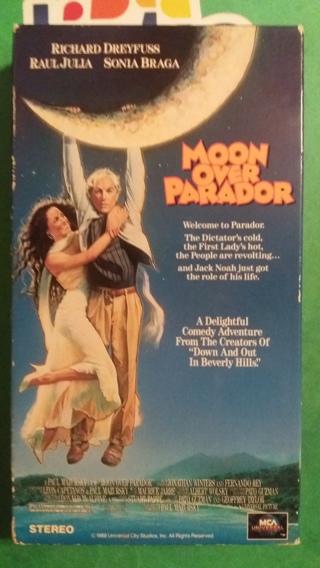 VHS movie  moon over parador  free shipping