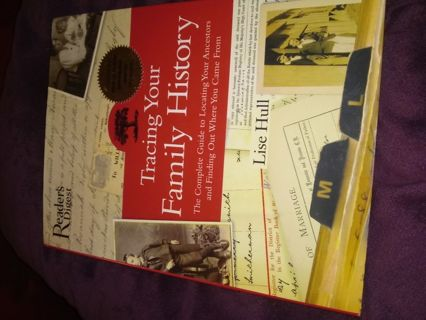 New Book Tracing Your Family History