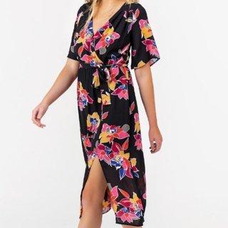 NWT Francescas Floral Wrap Dress