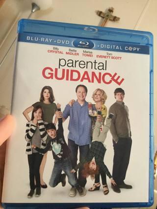 Parental guidance blue ray digital copy