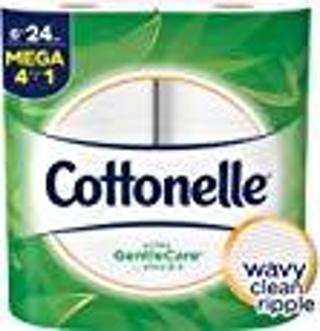 Cottonelle Gentle Care ~ Wavy Clean Ripple