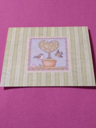 Spring Notecard