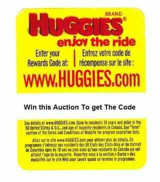 Five!!! Huggies Rewards codes