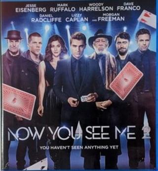 Now You See Me 2 HD Verified Digital Movie Code, Redeems on Vudu