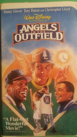 VHS movie  disney  angels in the outfield free shipping