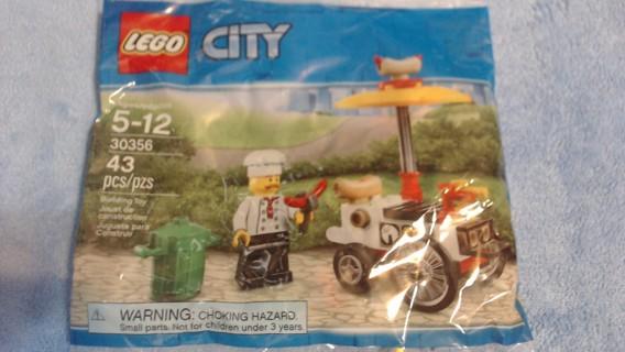 New Lego City 43 pcs.