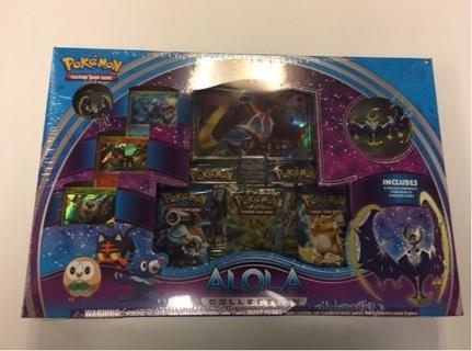 Pokemon Alola Collection Box - Lunala GX version! Sealed! Super fast shipping!