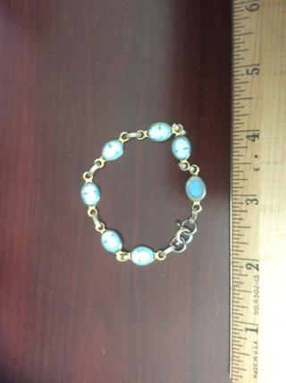 Cameo Bracelet for Small Wrist