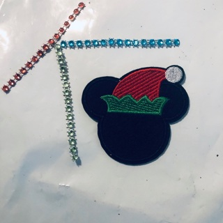 Mickey Mouse Embodied Iron Sew Patch + Bonus