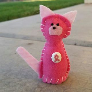 Breast Cancer Awareness kitty!