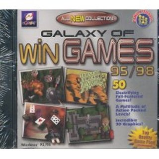 Galaxy Of Win Games 95 98 PC Game