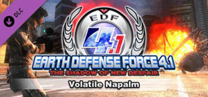 EARTH DEFENSE FORCE 4.1: Volatile Napalm