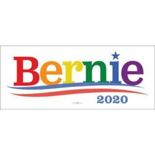 - Bernie Sanders 2020 For President Multi Color Bumper Sticker NEW
