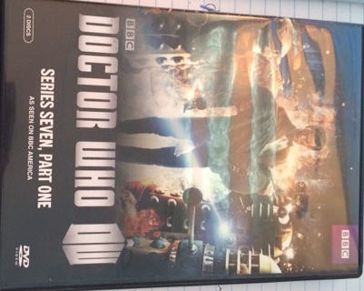 Doctor Who Series Seven Part One DVD