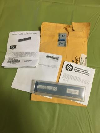 New Original HP Desktop Computer Memory