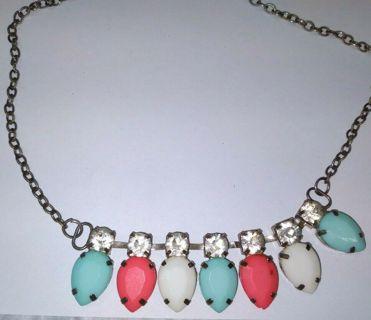 Gorgeous Vintage-Unique Necklace Choker **Swank**