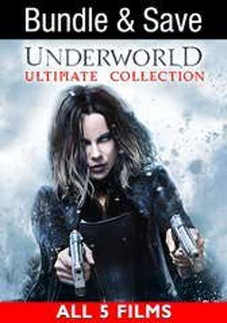 Underworld Ultimate Collection(5 films)- Digital Code Only- No Discs
