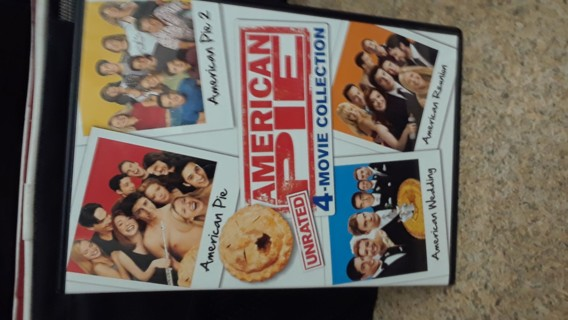 American Pie 4 movie DVD collection