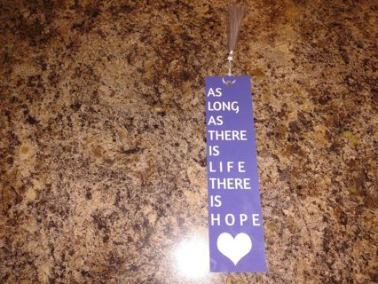 **** Brand New Encouraging Bookmark With Tassel****