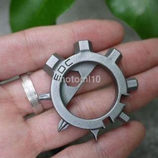 Multi Function 12 Function Screwdriver Key Ring Bottle Opener Bike Adjust Tools