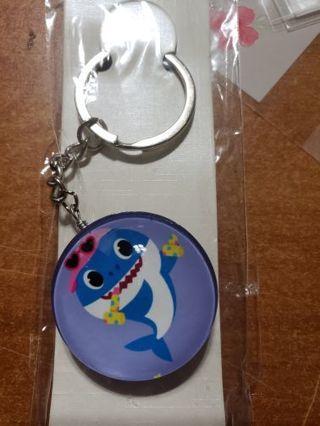 Baby shark keychain