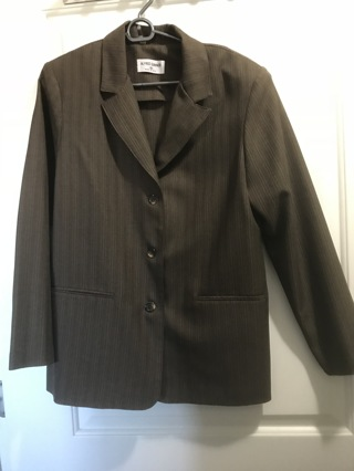 Ladies Alfred Dunner Size 10 Suit Jacket