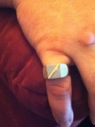 Nice Mens's Ring, size 10