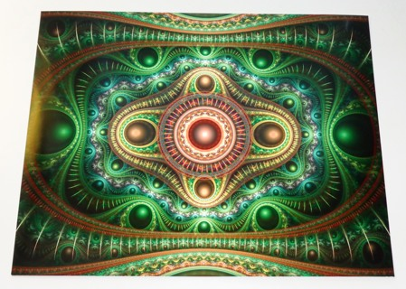 ▨▨ The Emerald Addict ▨▨ Large Photorealistic Fractal Artwork by Stan Ragets