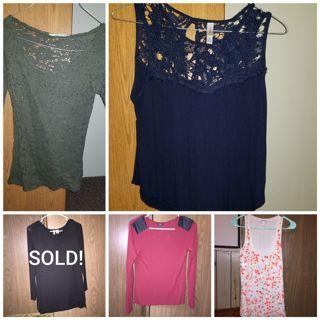 4 Shirt Lot