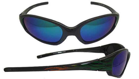 NEW 100% UV Protected Boy's or Girl's Flame Sunglasses NEW