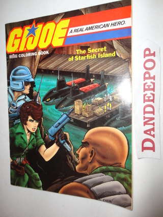 Free: G.I. Joe Coloring Book The Secret of Starfish Island 1987 by ...
