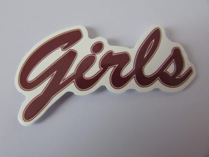 GIRLS- HBO Vinyl Sticker- Helmet/Car/Skateboard/Business/Crafts